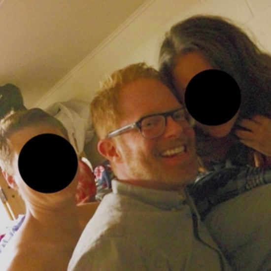 Jesse Tyler Ferguson and Eric Stonestreet at a Frat House