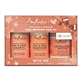 SheaMoisture Coconut and Hibiscus Curl Defining Hair Kit