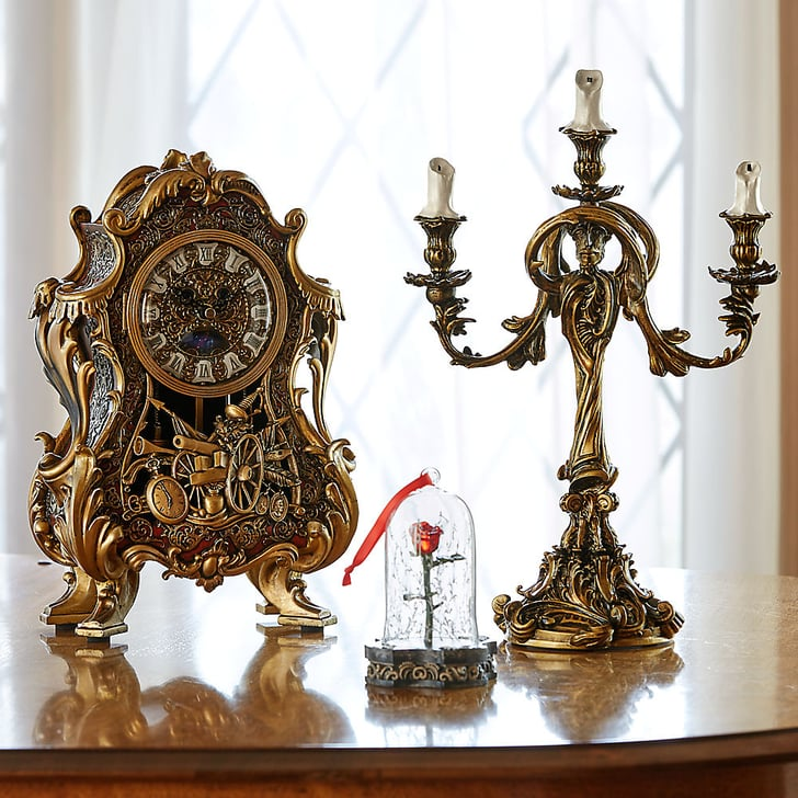 Where To Buy Beauty And The Beast S Clock And Candelabra Popsugar Home