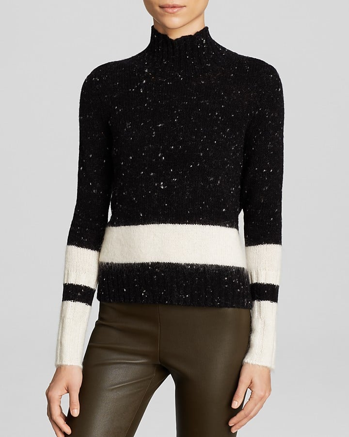 C by Bloomingdale's Speckled Stripe Sweater