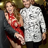 "When Thalia and Maluma Were Like ""Whoo!"" Backstage"
