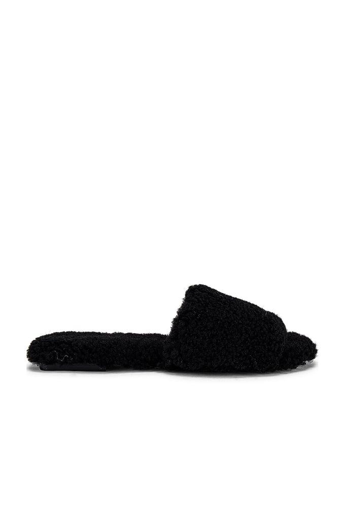 Raye Shearling Sandal