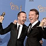 They Took Home Matching Awards Once Again at the 71st Annual Golden Globe Awards Later That Month