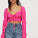 H&M Drawstring Top