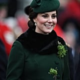 Kate Middleton's Green Catherine Walker Coat