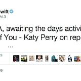 May 19, 2009: Taylor Mentions Katy