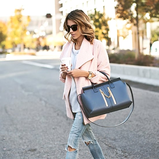 How to Wear Pink For Fall