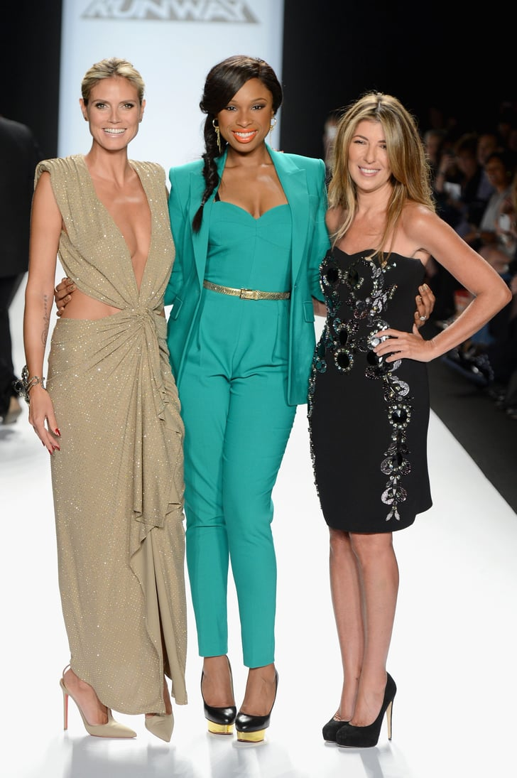 Heidi, Jennifer, and Nina Team Up For Project Runway's NYFW Finale