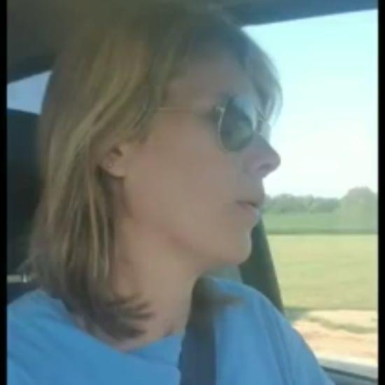 Mom's Video in School Drop-Off Line