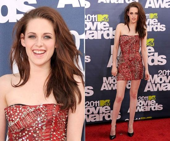 Kristen Stewart at 2011 MTV Movie Awards 2011-06-05 18:42:30