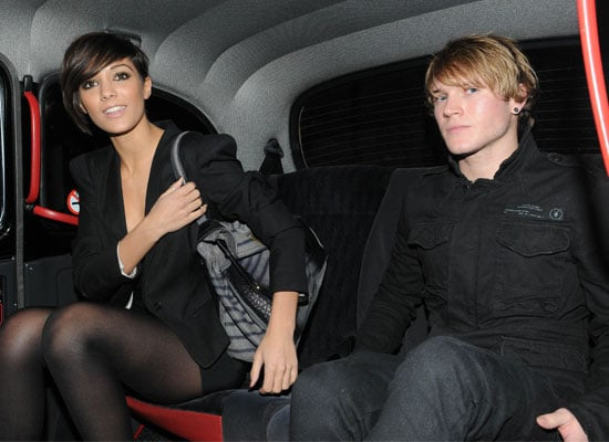 Photos of The Saturdays' Frankie Sandford and McFly's Dougie Poynter Out on a Date in London
