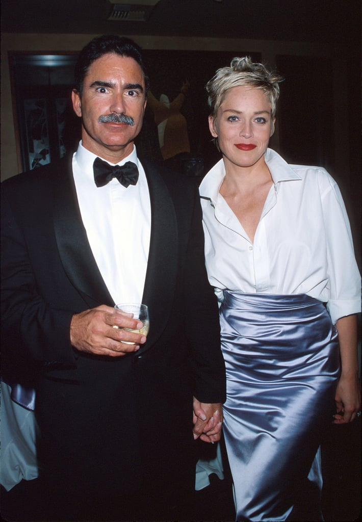 Phil Bronstein and Sharon Stone