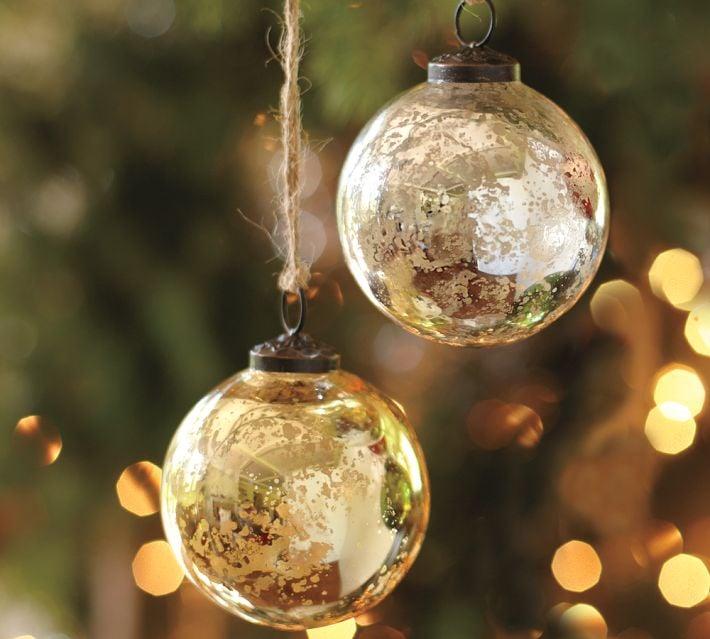 Glass Ball Ornament Diys Popsugar Smart Living
