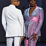 Pictured: RuPaul and Leslie Jones