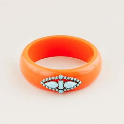 Lulu Frost for J.Crew Turquoise Stone Bangle ($68)