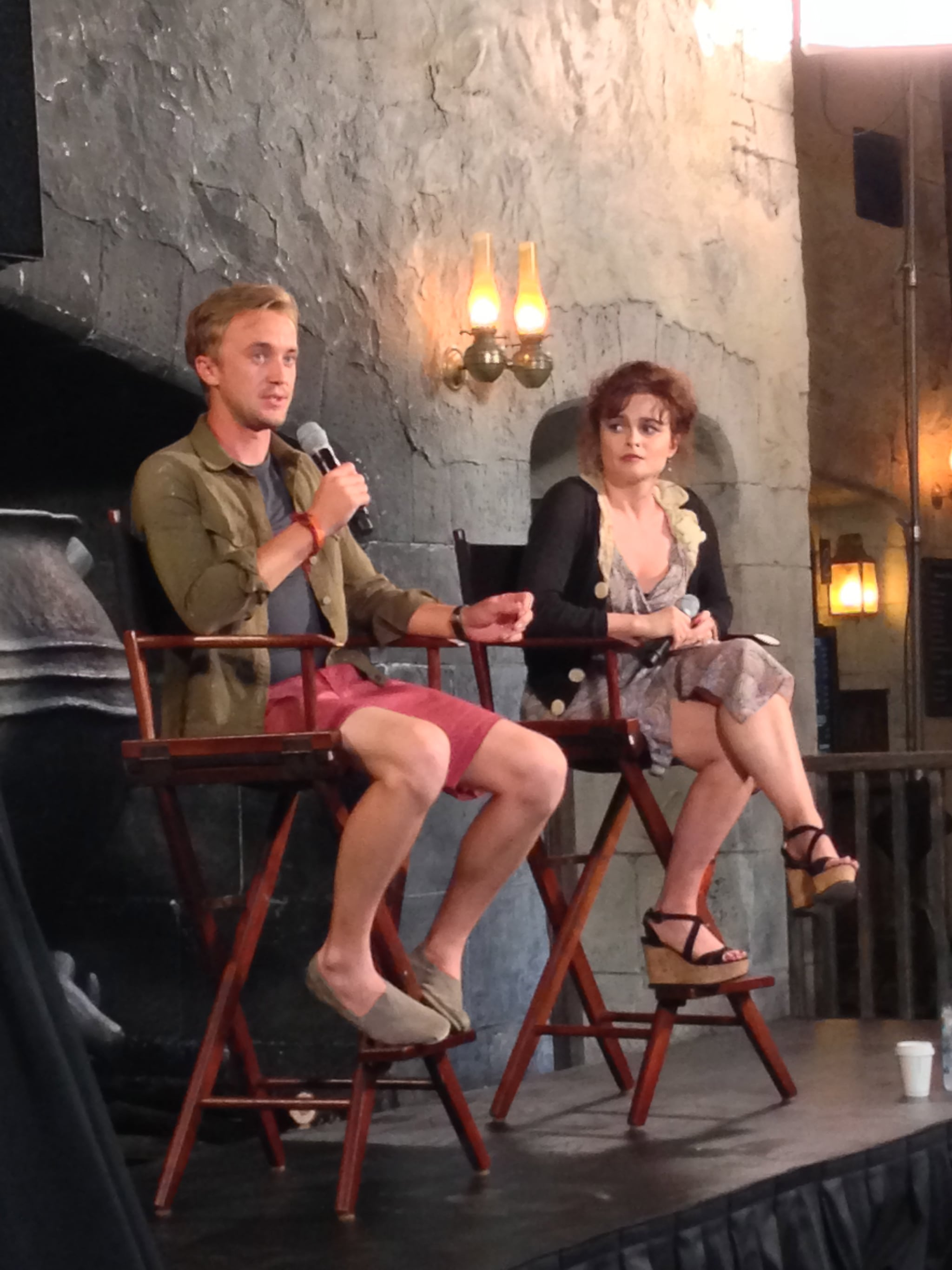 Tom Felton also said he hopes to bring his own little ones to The Wizarding World of Harry Potter some day. Cue the awwws.