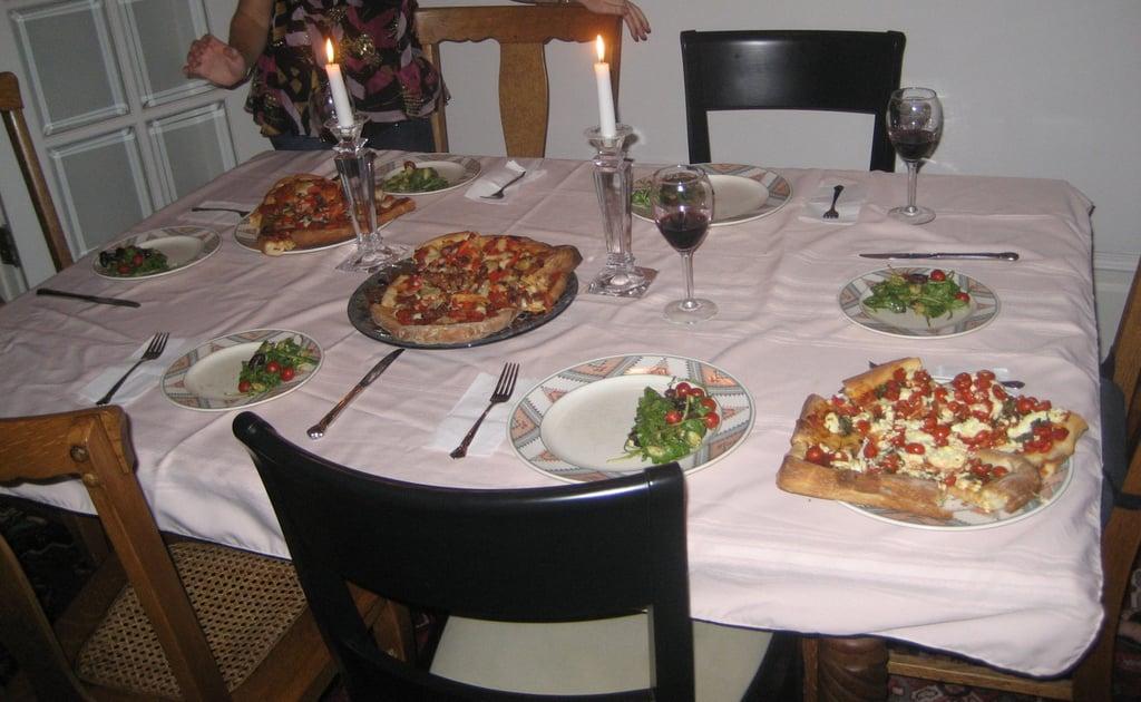 Impromptu Dinner Party Plan #1