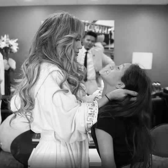 Jennifer Lopez's Pep Talk For Emme on It's My Party Tour