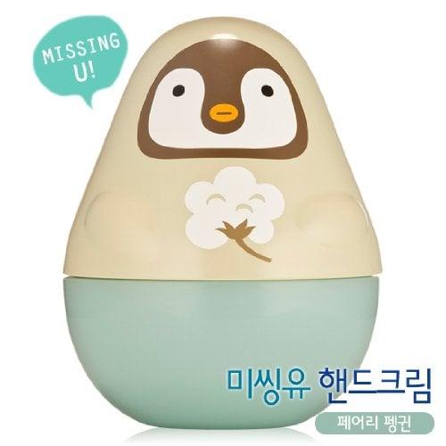 Etude House Missing U Hand Cream in Fairy Penguin Story
