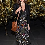 Maggie Gyllenhaal at the Mulberry party.