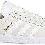 adidas Gazelle leather trainers ($90)