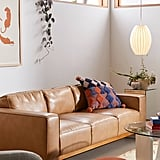 Kiera Faux Leather Sofa