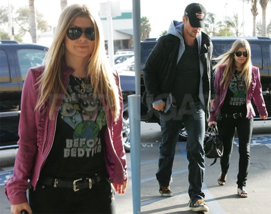 Fergie and Josh Prepare For a New Year's Rockin' Eve