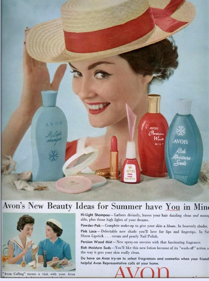"""This Summer, """"give your skin a bloom"""" with Avon makeup."""