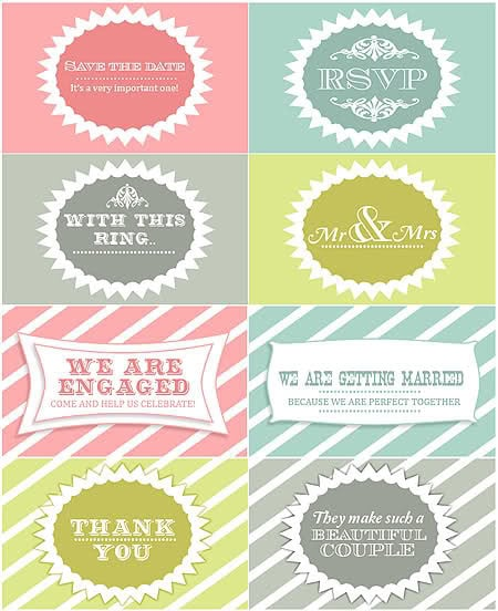 Wedding Printables Free Printable Wedding Favors POPSUGAR Smart
