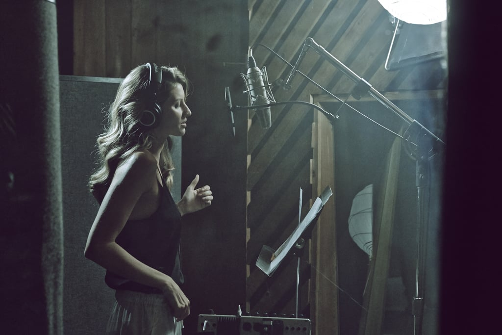 Behind the Scenes at Gisele Bündchen's H&M Shoot