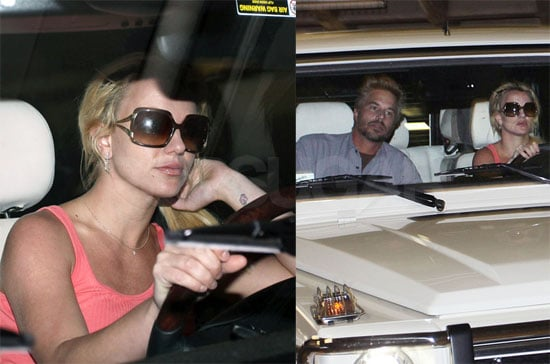 Photos of Britney Spears and Jason Tarwick in LA 2009-10-15 20:27:47