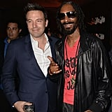 When He Partied With Snoop Lion
