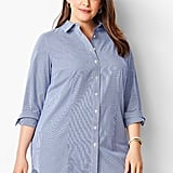 Talbots Longer Length Perfect Shirt Gingham