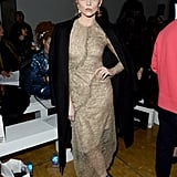 Natalie Dormer at the Central Saint Martins MA Show