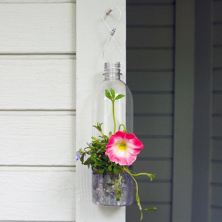 Plastic Bottle Hanging Planter Popsugar Smart Living