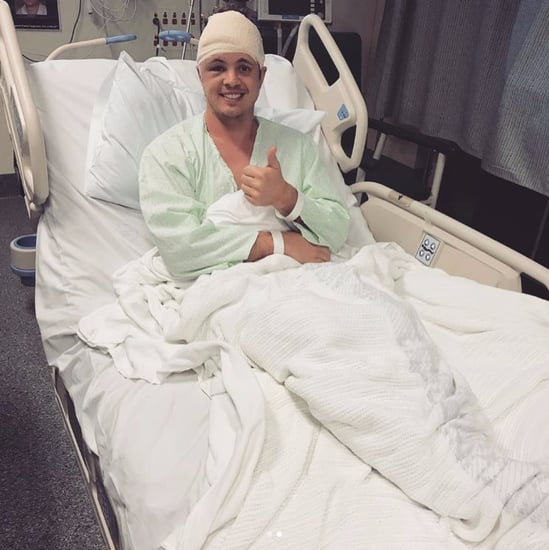 Johnny Ruffo Brain Tumour Surgery August 2017