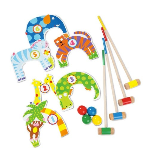 Play Croquet With a Jungle Set