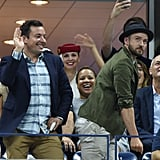 """When They Spontaneously Danced to """"Single Ladies"""" During the 2015 US Open"""