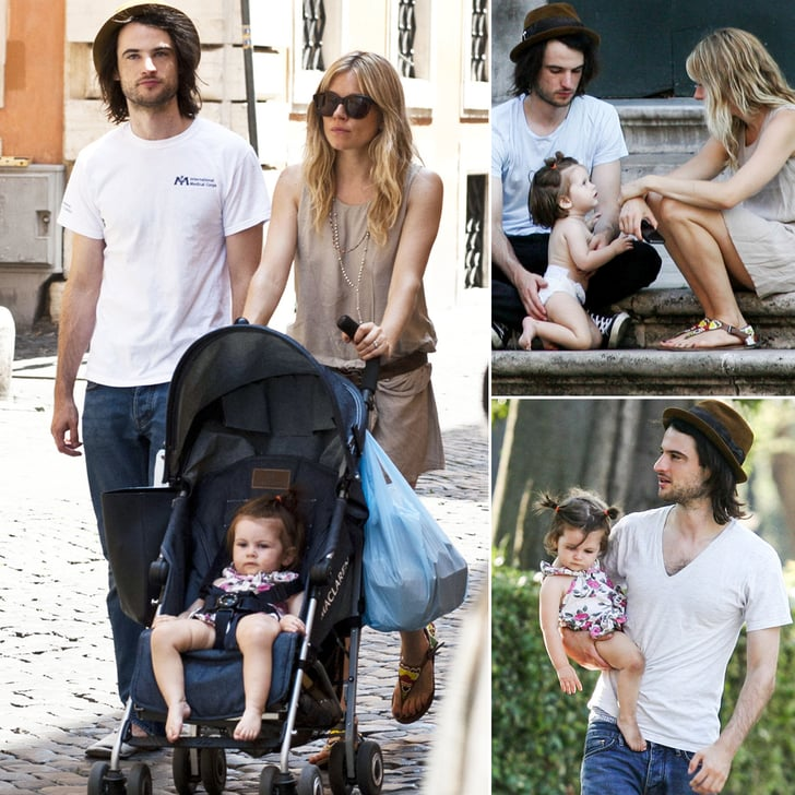 Sienna and Tom Bring Baby Marlowe Along For an Italian Getaway