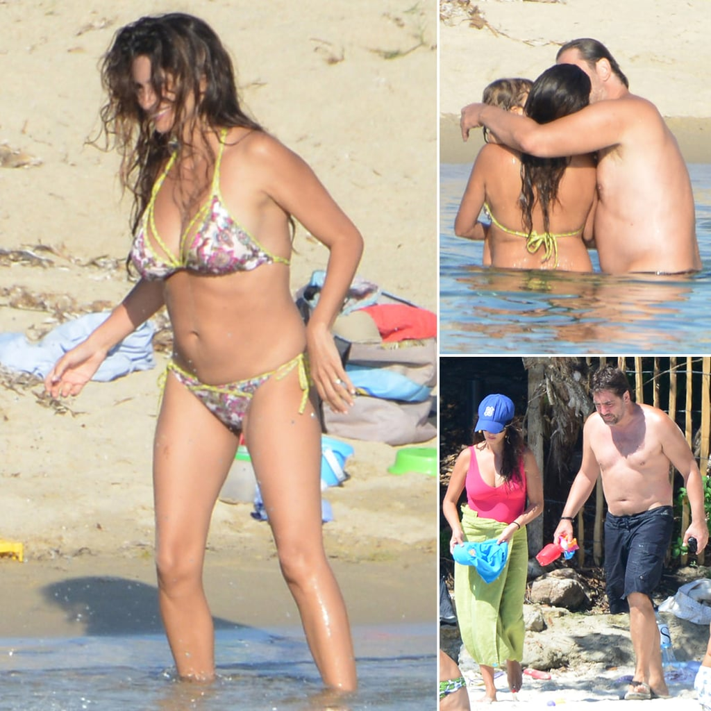 Penelope Cruz in a Bikini After Giving Birth 2013 | Pictures