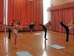 CLASS Act:  Cardio Kickboxing