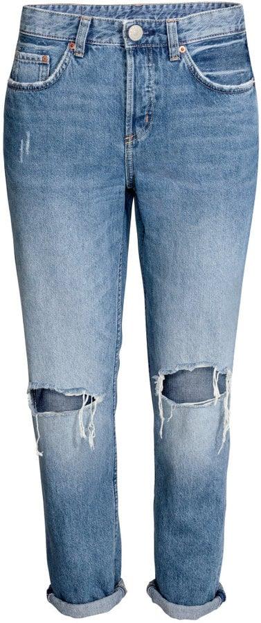 H&M Boyfriend Jeans ($40)