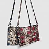 Shop Similar: Zara Printed Leather Crossbody Clutch Bag