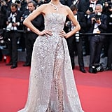 Alessandra Ambrosio Looks Like a Princess in Zuhair Murad at the Cannes Film Festival