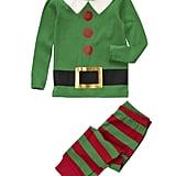 Crazy 8 Elf 2-Piece Pajama Set