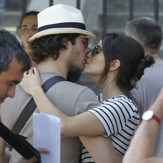 Ian Somerhalder and Nikki Reed Kissing in Miami 2015