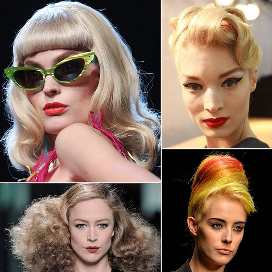 Vintage Hair and Makeup | Runway Pictures