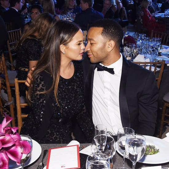 Chrissy Teigen and John Legend at the Golden Heart Awards