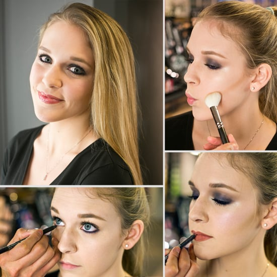 Glam Up Your New Year Smoky Eye With a Pop of Purple