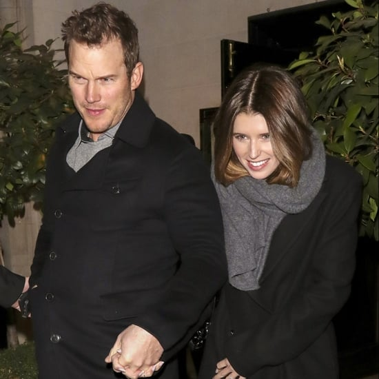 Chris Pratt and Katherine Schwarzenegger Out in London 2019